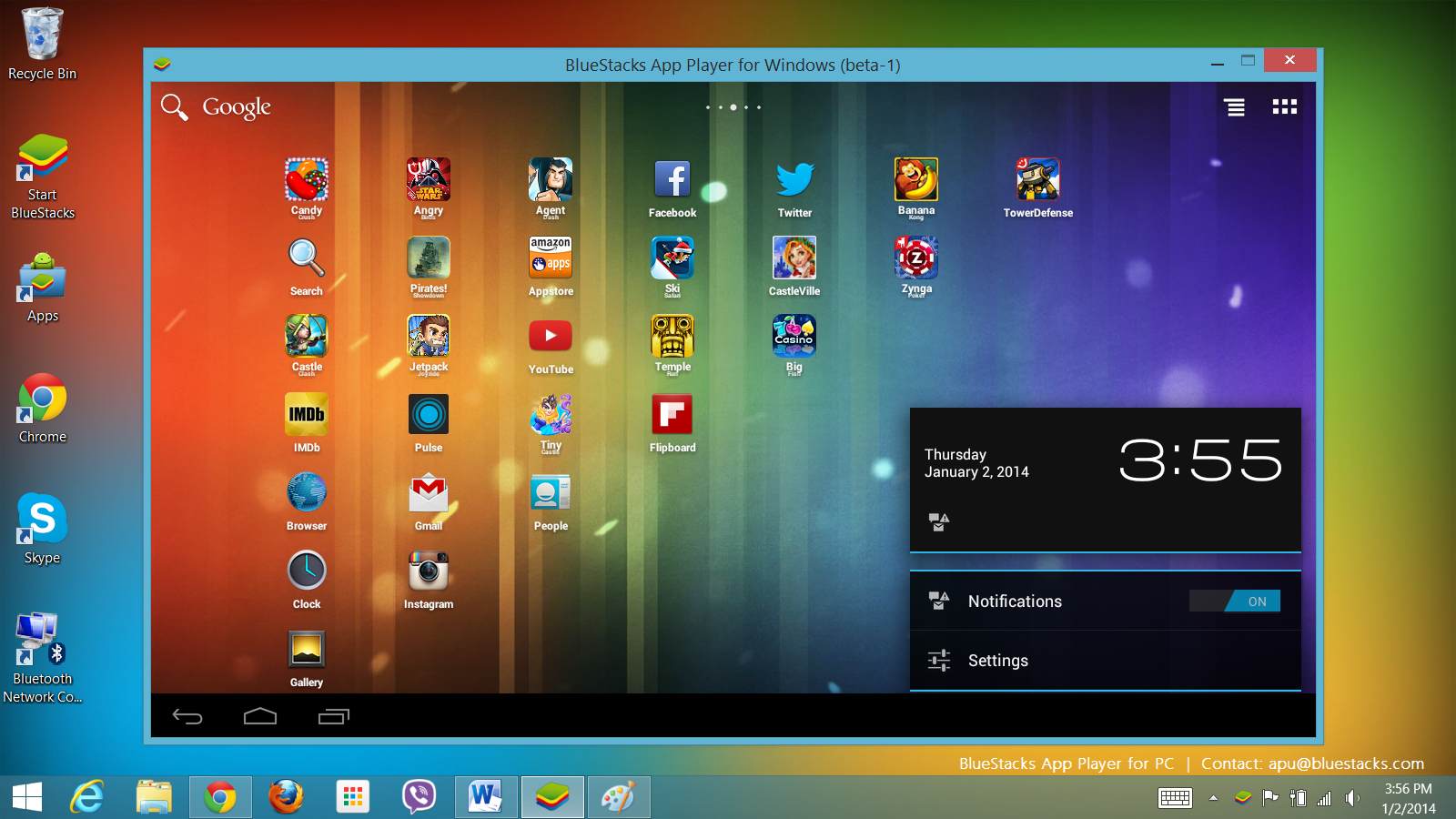 How To Run ANDROID Apps On PC [WINDOWS 7/8]
