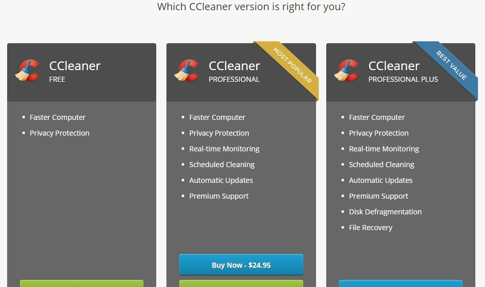 Download CCleaner for PC or laptop on windows 7/8/8.1/10 & Mac