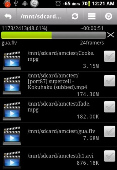 vca1 Top Video to Audio Converter for Android