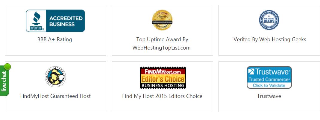 Interserver awards