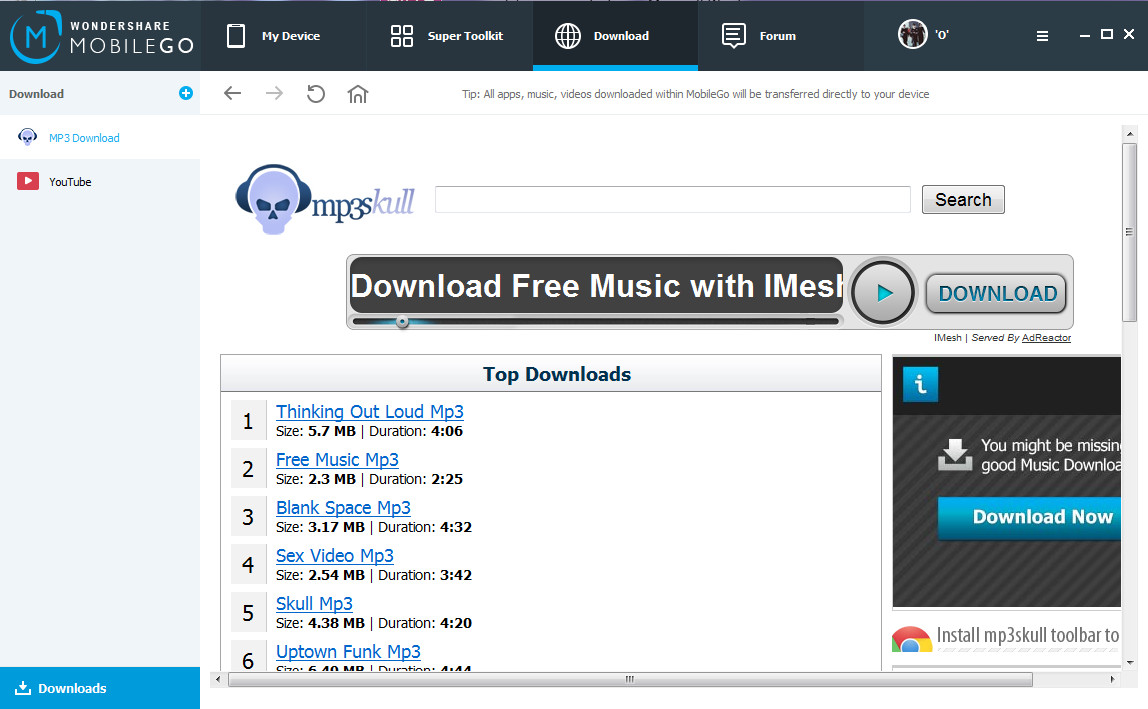 music download WonderShare app for Data Backup and Restoration