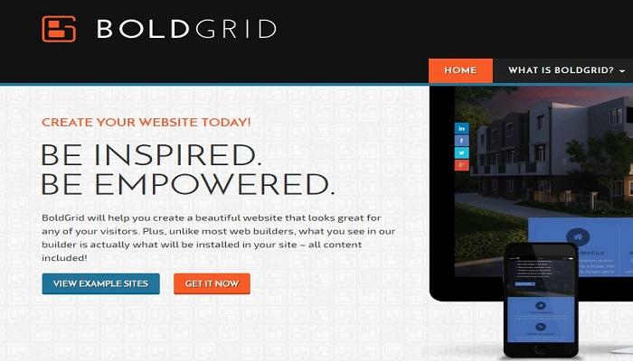 BoldGrid-Create-a-Web-Site Review