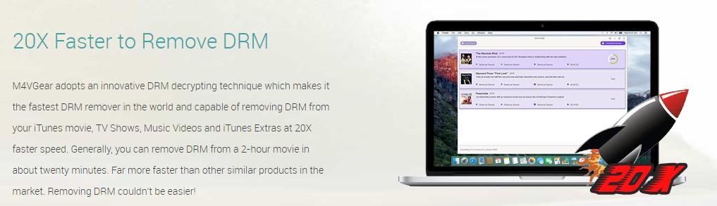m4vgear Remove DRM