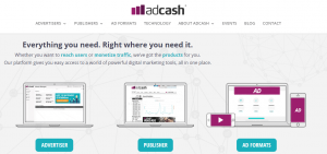 adcash features