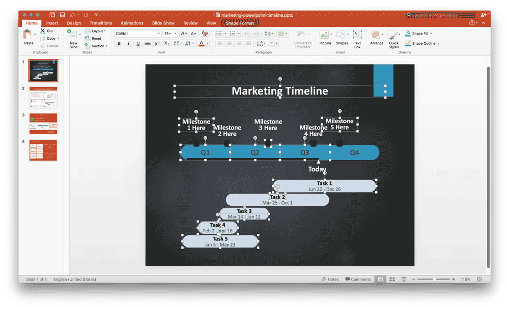 free-powerpoint-timelines