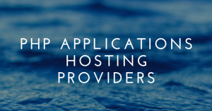 php hosting providers