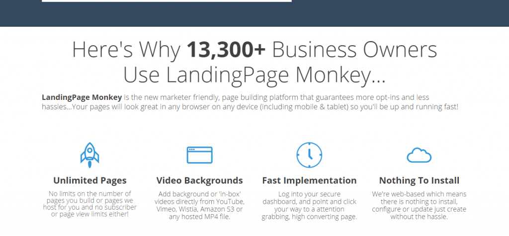 landingpage-monkey-features-and-bonus-discount-too