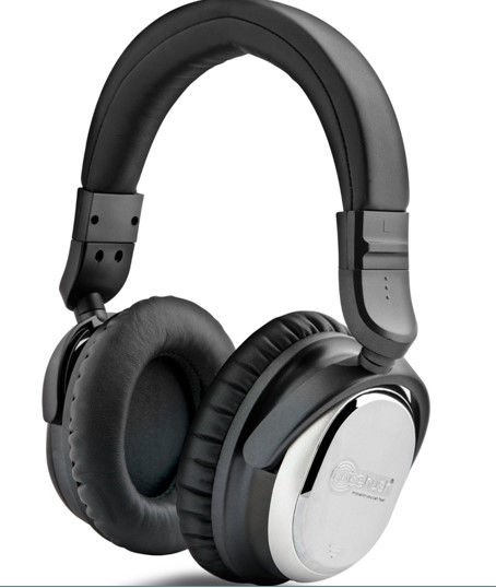 NoiseHush i7 Aviator Headphones with Active Noise Cancelling Technology