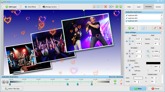 3d Exhibition Software : New slideshow presentation software for windows