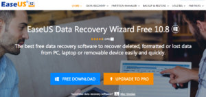 Utilize EaseUS Data Recovery Wizard to Recover Lost Data