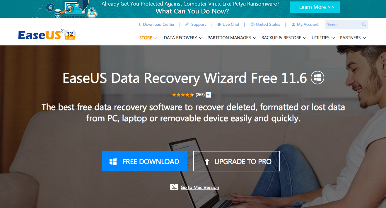 easeus data recovery safe