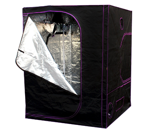 "Apollo Horticulture 60""x60""x80"" Mylar Hydroponic Grow Tent for Indoor Plant Growing"