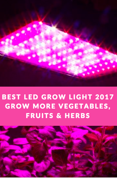 Best Led Grow Lights Review Of 2019 Top Amazon Sellers