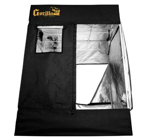 Gorilla Grow GGT59 Black Tent