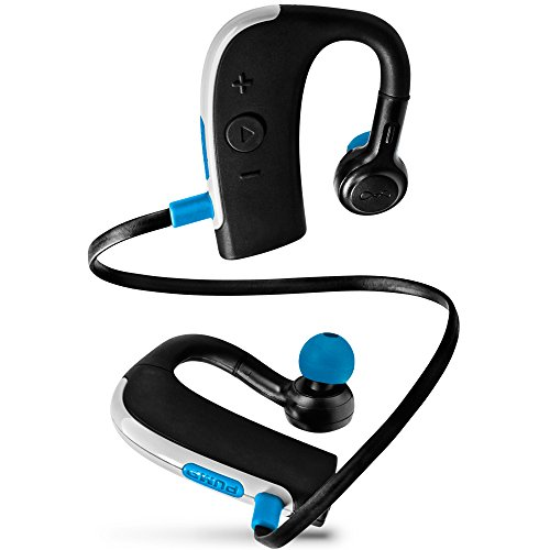 b69c72941ef This is a relatively new model but has successfully placed a firm foot on  the list of the top waterproof bluetooth headphones review.