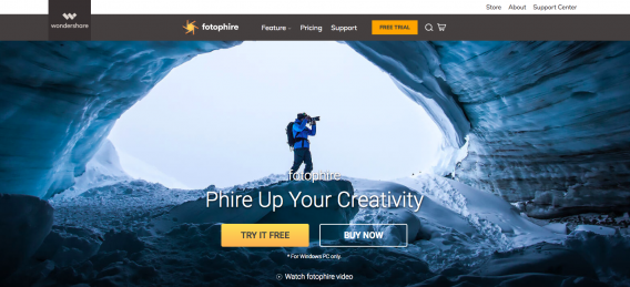 Wondershare Fotophire Photo Editing Software