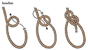 bowline tie knot