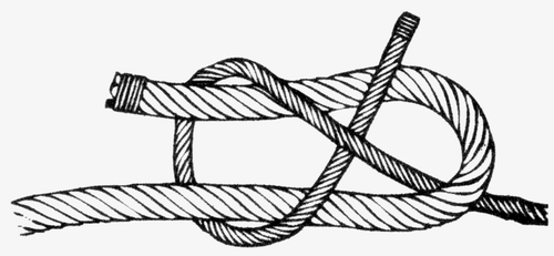 sheet tie knot