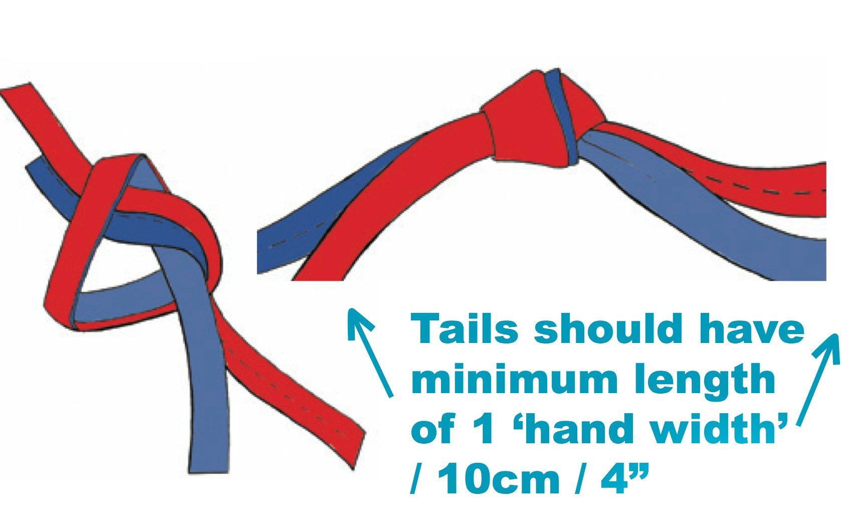 water knot tie