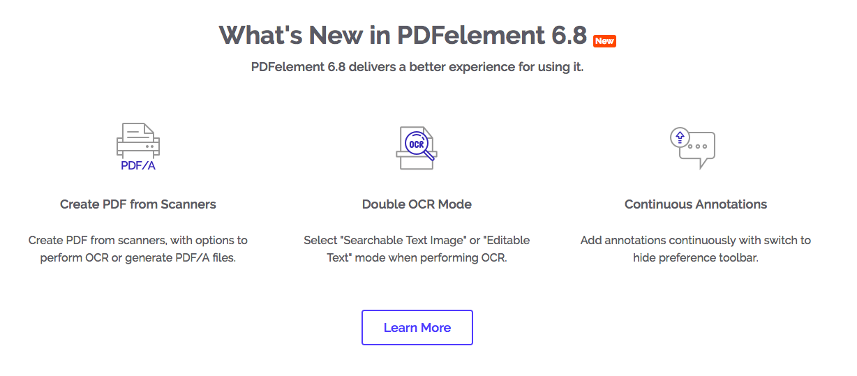Wondershare PDF Element Features