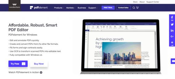 Wondershare PDF Element Review