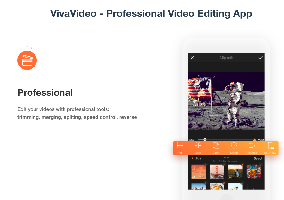 VivaVideo - Professional Video Editing App