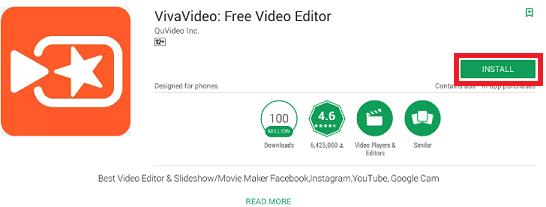 VivaVideo install