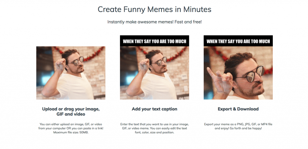 Create Funny Meme Online Easily