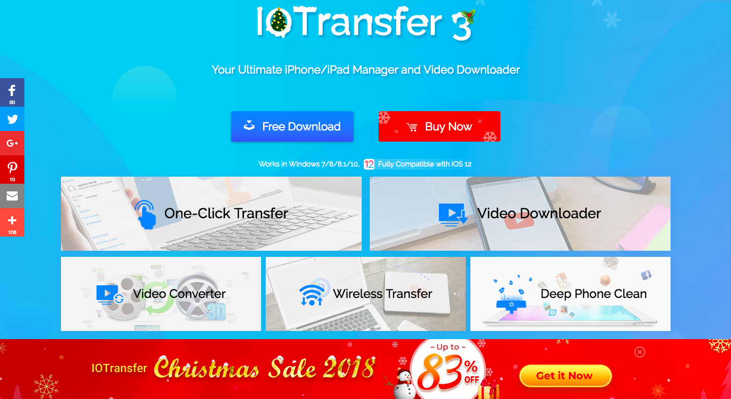 IOTransfer 3 Best iPhone & iPad Manager