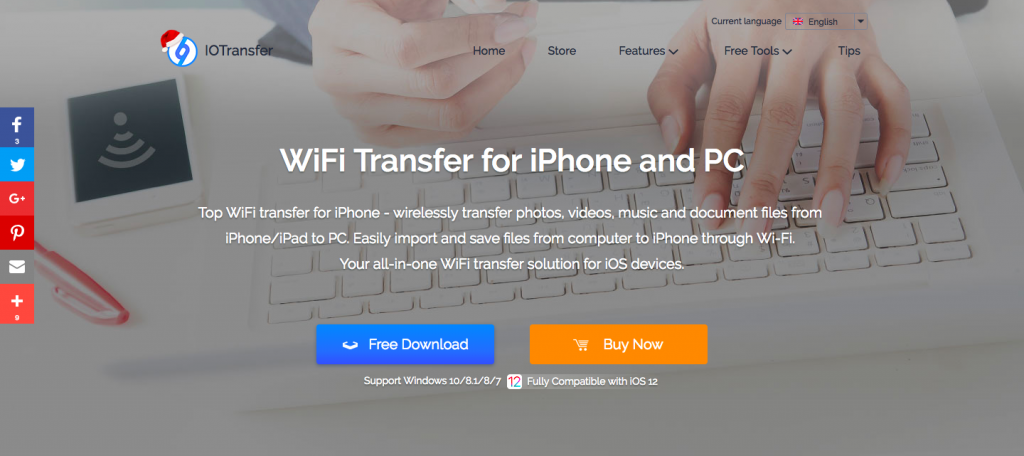 WiFi Transfer for iPhone and PC