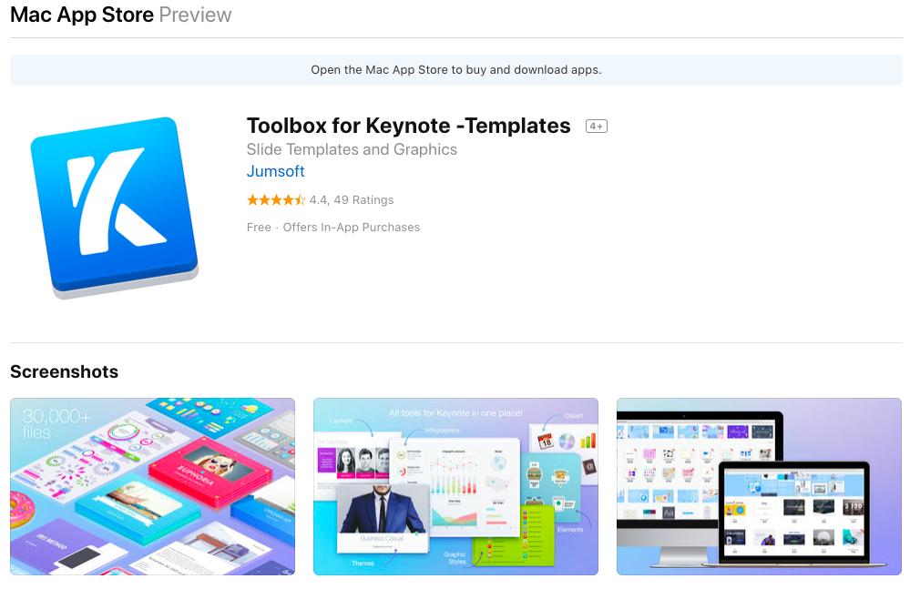 jumsoft keynote for macOS