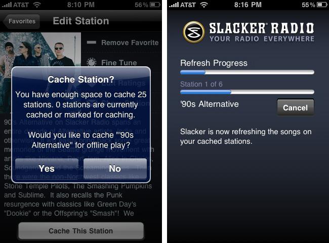 slacker-radio-app free app