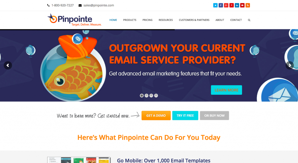 Pinpointe Review Best Email Marketing Service