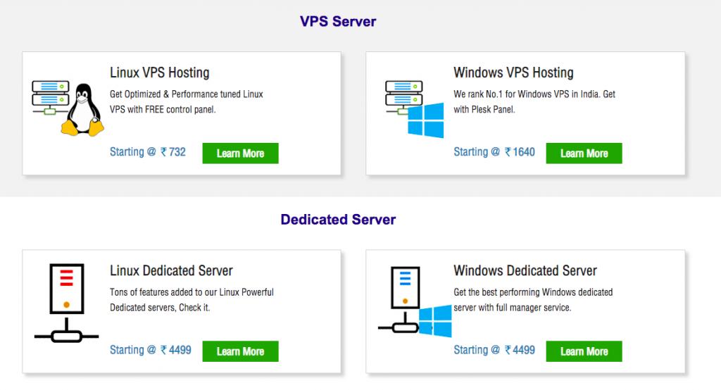 HostingRaja Servers