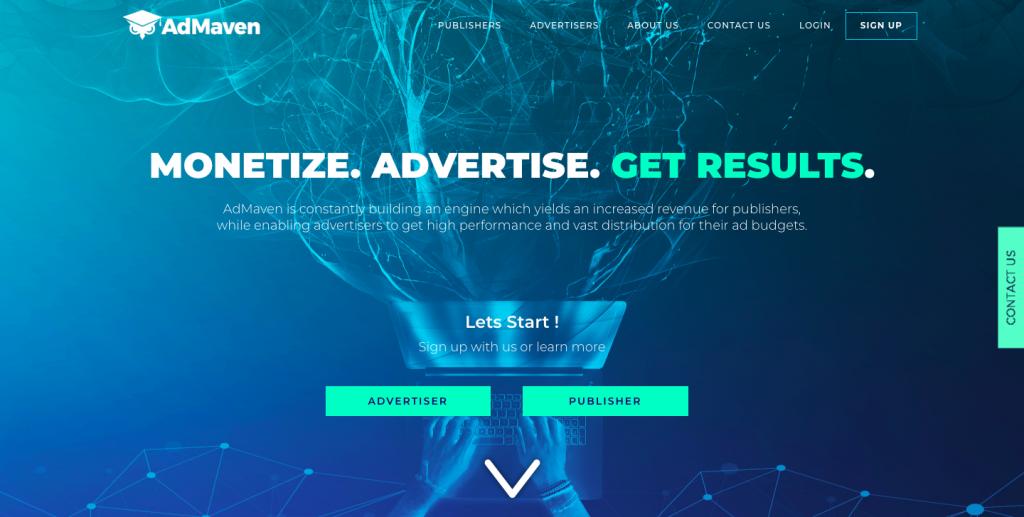Ad-maven push ad network-