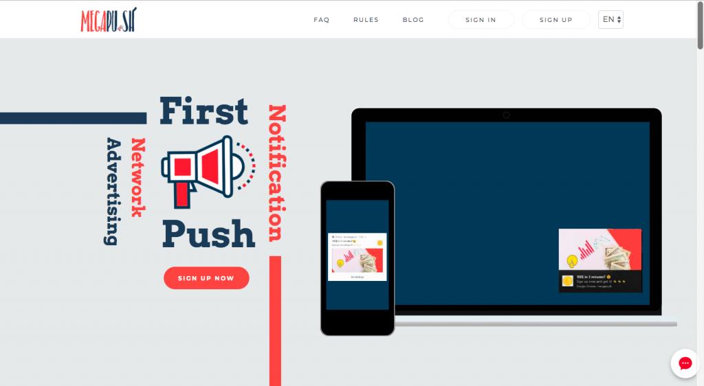Megapu.sh Push Ad Network