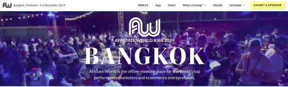 AWA Conference Bangkok