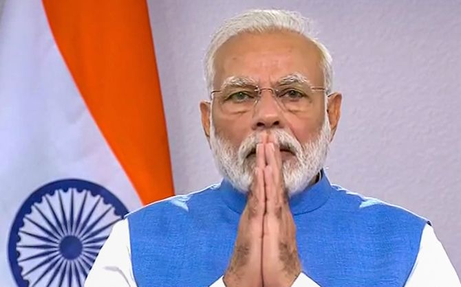 PM Modi addresses on coronavirus pandemic
