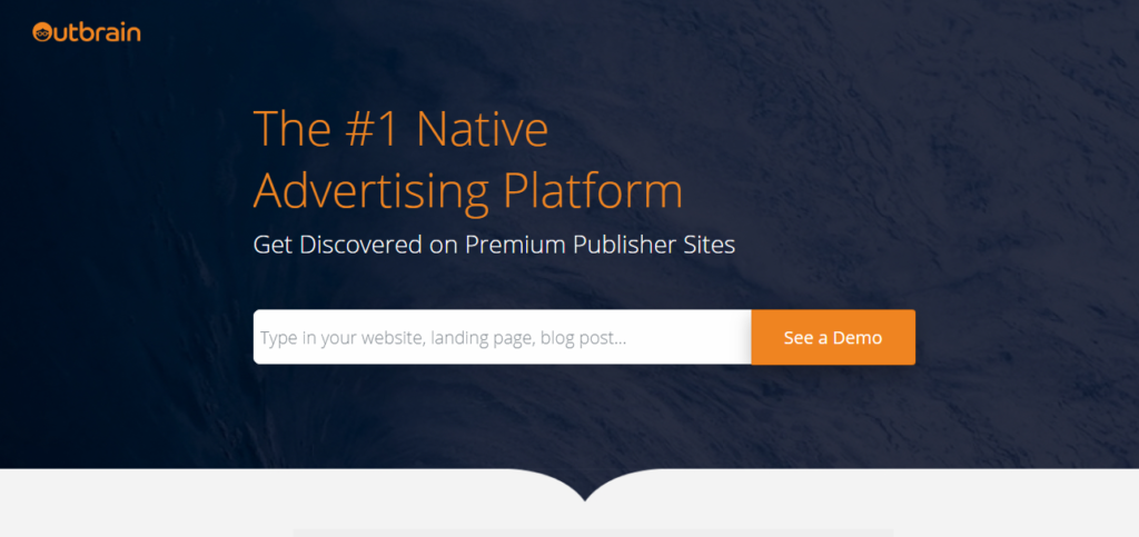 Outbrain-Best Native ad networks