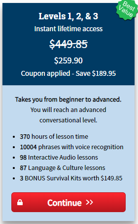 Rocket Spanish Course Price