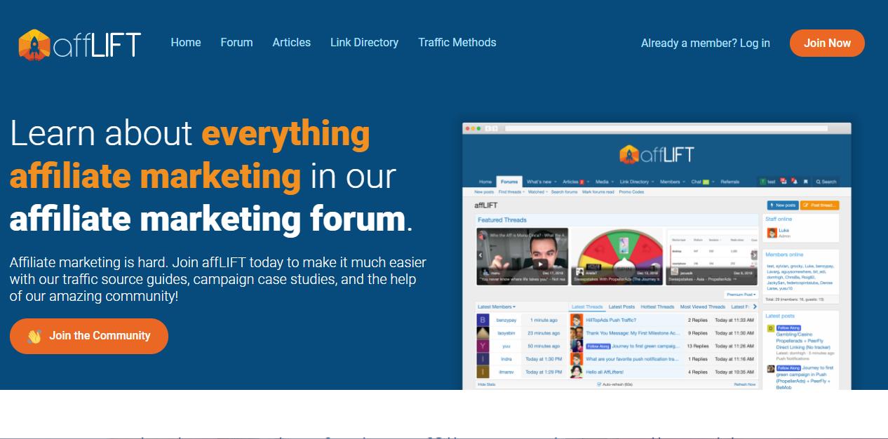 affLIFT Forum