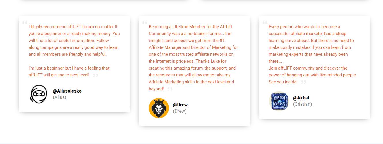 affLIFT Forum 2020