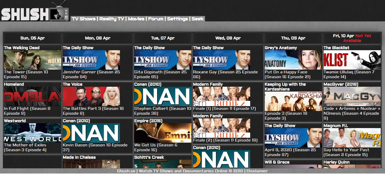 Free TV Shows Online