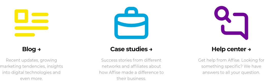 Affise Case Study & Blogs