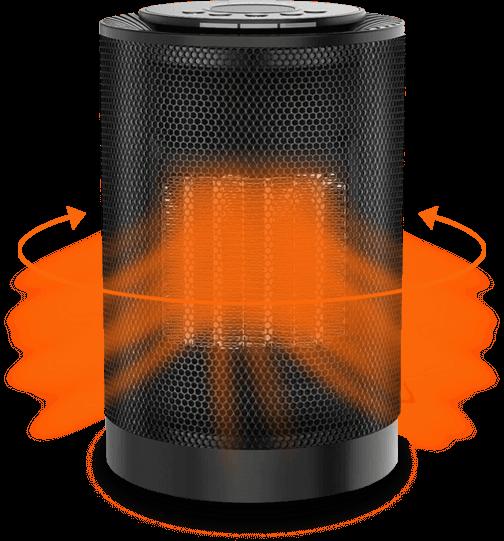 EcoHeat S Portable Heater 2020