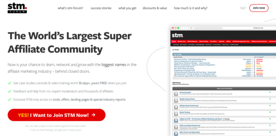 STM Forum Review: Best Affiliate Marketing Forum