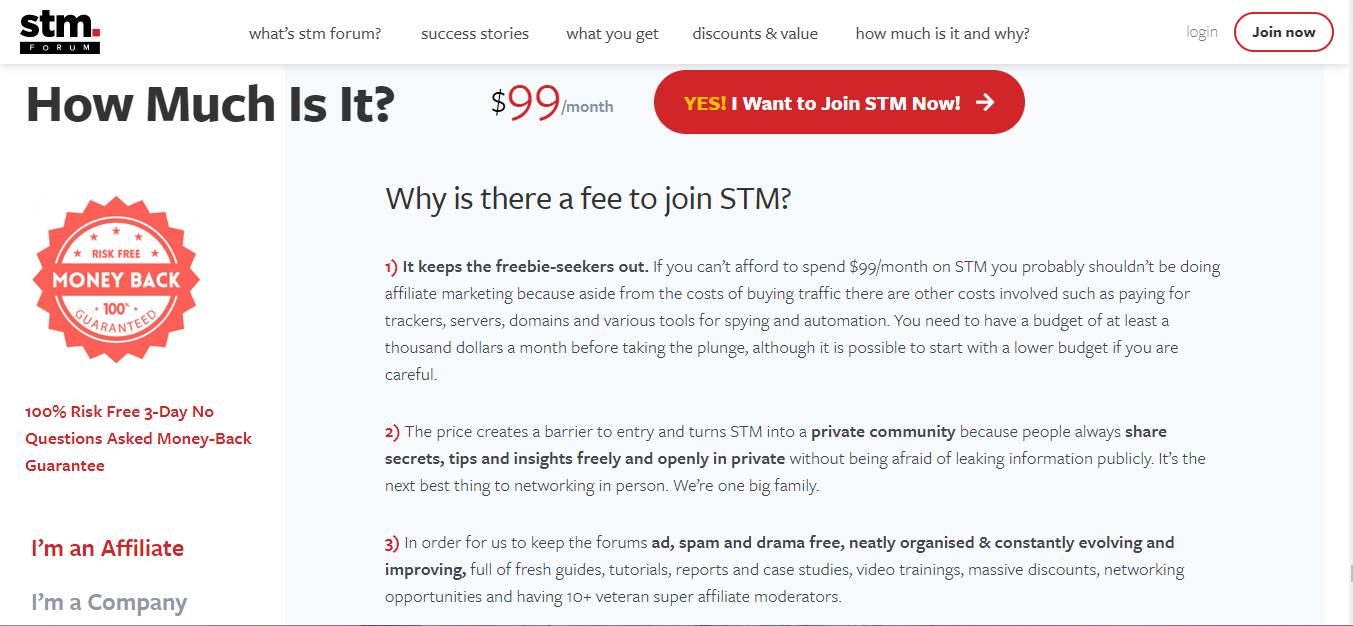 Stm forum price