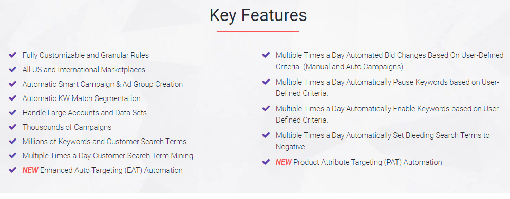Zon.Tools Key Features