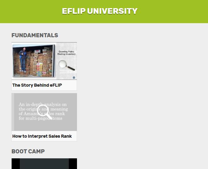 eFLIP University
