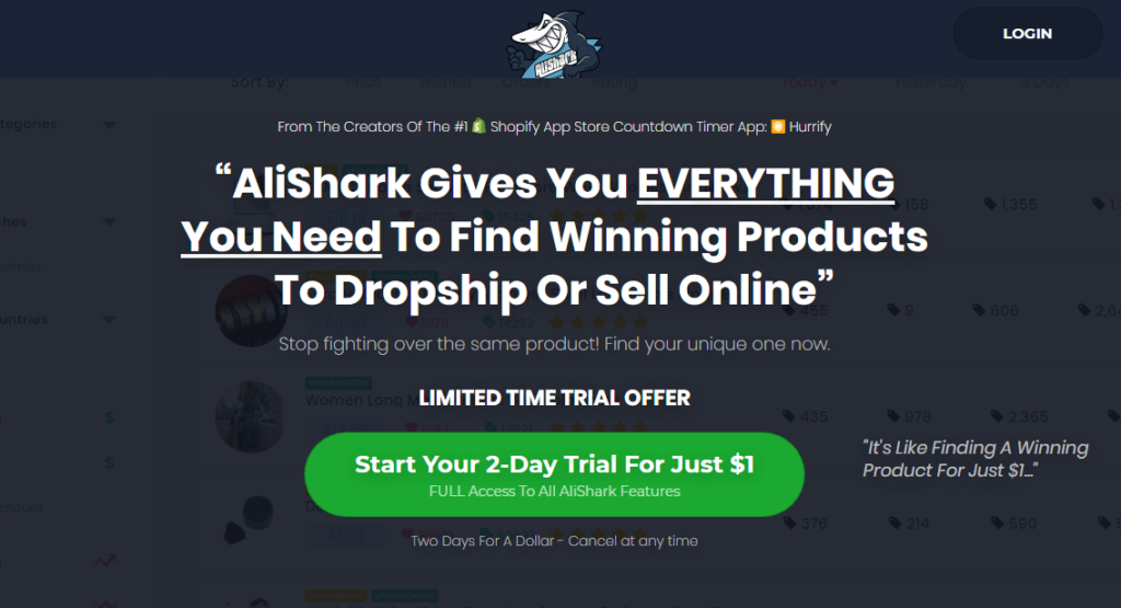 AliShark Review